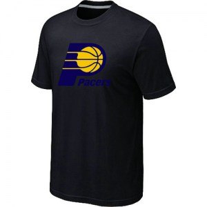 Men's Indiana Pacers Black Big & Tall Primary Logo T-Shirt -