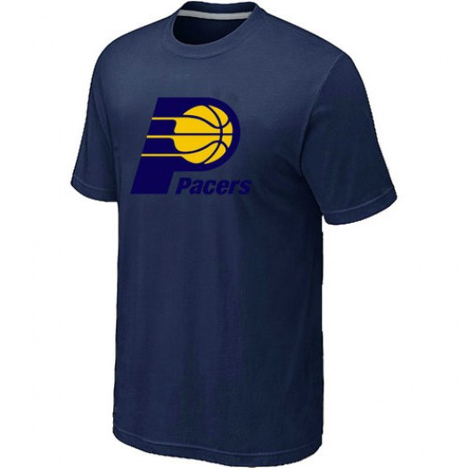 Men's Indiana Pacers Navy Big & Tall Primary Logo T-Shirt -