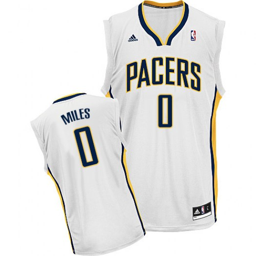 Men's C.J. Miles Indiana Pacers Adidas Swingman White Home Jersey