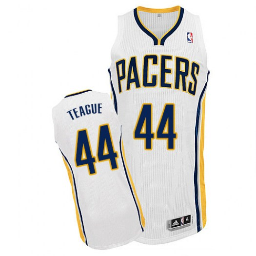 Men's Jeff Teague Indiana Pacers Adidas Authentic White Home Jersey