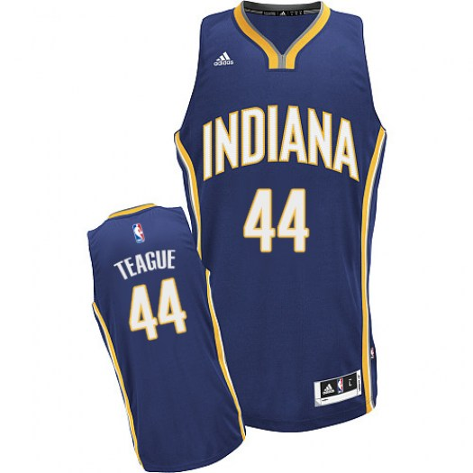 Men's Jeff Teague Indiana Pacers Adidas Swingman Navy Blue Road Jersey
