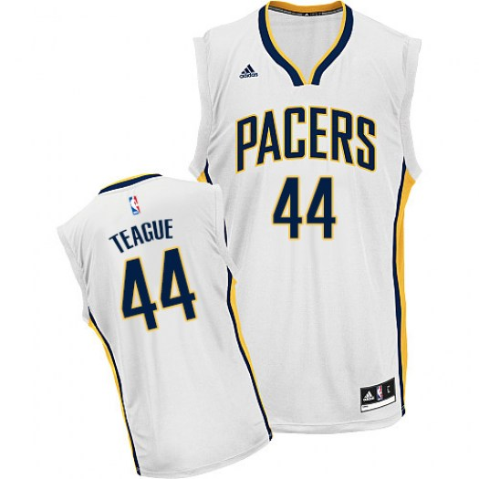 Men's Jeff Teague Indiana Pacers Adidas Swingman White Home Jersey