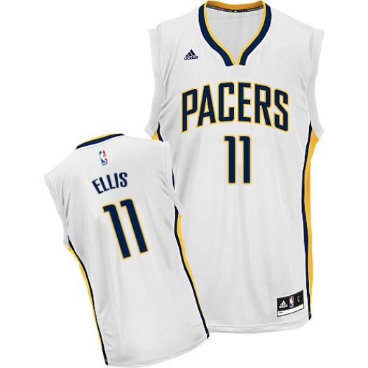 Men's Monta Ellis Indiana Pacers Adidas Swingman White Home Jersey