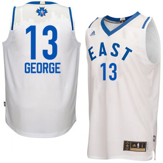 Men's Paul George Indiana Pacers Adidas Authentic White 2016 All Star Jersey